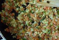 Kuřecí kapsa se zeleninou