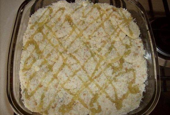 Zapečený mangold s bramborem
