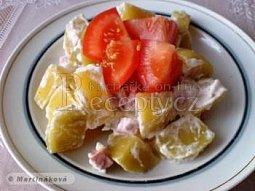 Zapečené brambory se smetanou