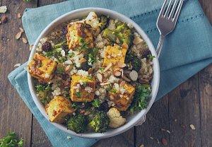Kuskus s tofu