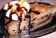 Banánovo-čokoládový vláčný koláč