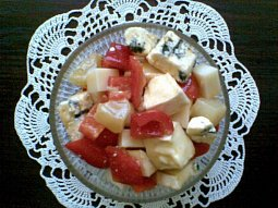 Sýrový mix - salát