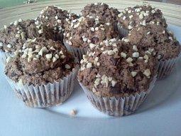Muffiny z žitné mouky