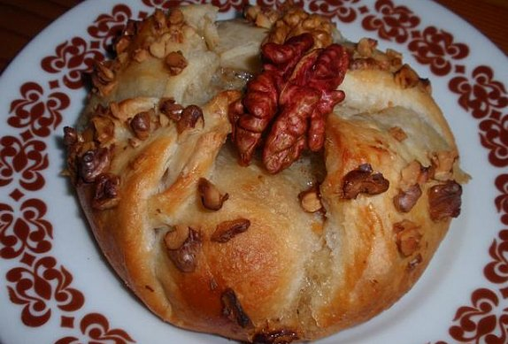 Hermelín / Camembert v listovém těstě
