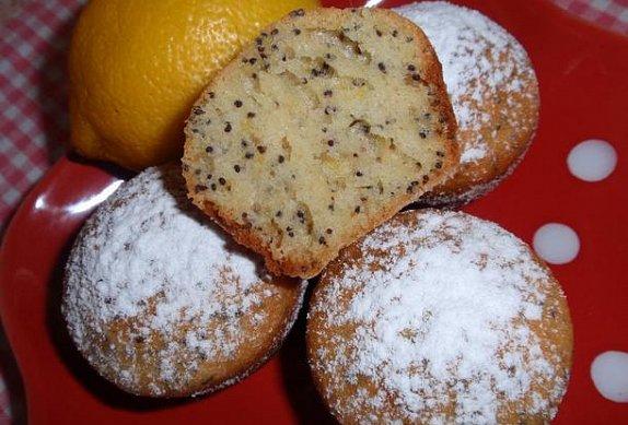 Citronovo-makové muffiny photo-0