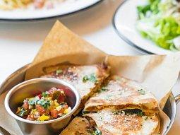 Hovězí quesadilla