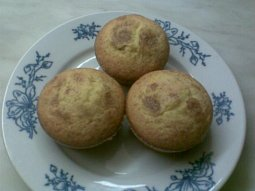 Muffinky citronové