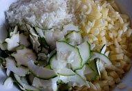 Cuketovo-paprikový salát (čalamáda)