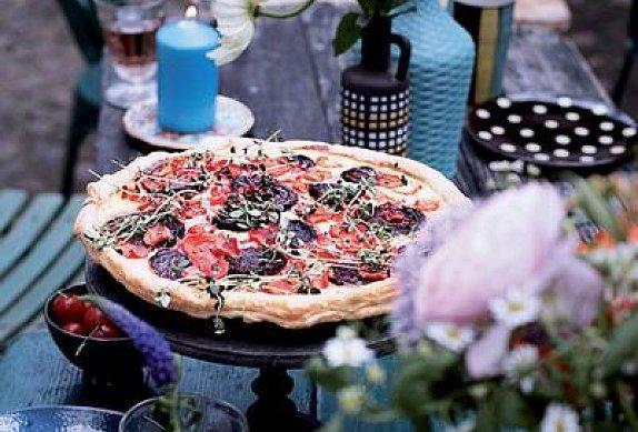 Zeleninový koláč dle časopisu F.O.O.D.