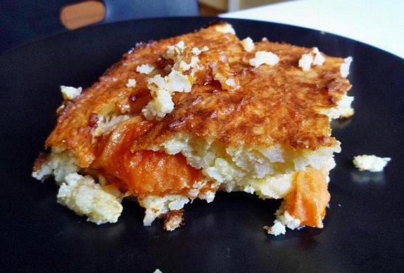 Rýžový nákyp s meruňkami
