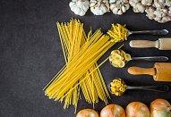 Houbové aglio olio