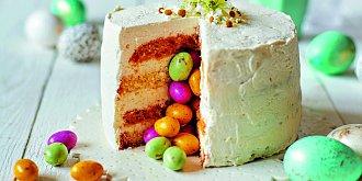 Bílý dort s překvapením