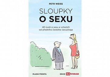Křest knihy Sloupky o sexu, 40 úvah o sexu a vztazích