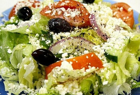 Řecký salát po řecku