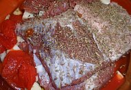 Gurmánské pečené vepřové maso na pivě