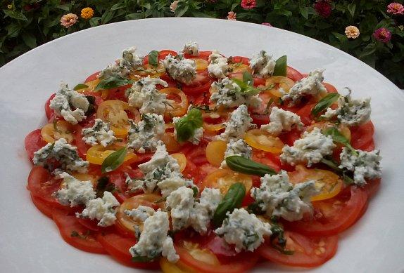 Carpaccio z rajčat