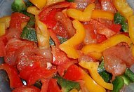 Barevné tandoori maso - minutka