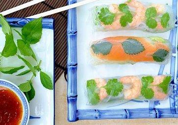 Napříč asijskou kuchyní: Sushi, pho i jarní závitky
