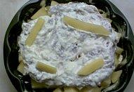 Jogurtová krkovička zapečená s bramborem
