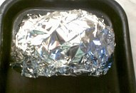 Kuřecí řízky s klobáskou (v alobalu)