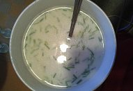 Mlíková polívka