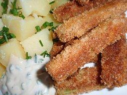 Smažený nebo grilovaný řapíkatý celer