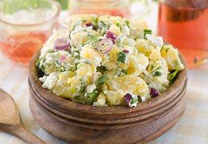 bramborový salát bavorský