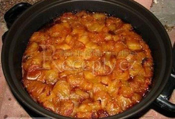 Opravdu celozrnný jablečný koláč