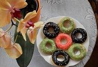 Pečené donuty