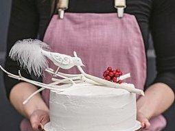 Kokosovo-grepový dort