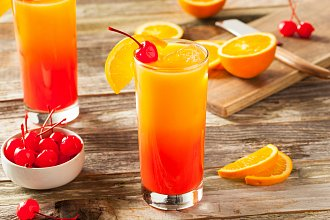 Recept na Tequila Sunrise drink – postup přípravy, suroviny a více variant receptu
