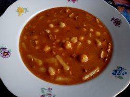 Cizrnová polévka - vydatná
