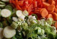 Šťavnaté karé se zeleninou