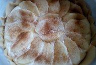 Tvarohovo-ovocný koláč (nejen) z remosky