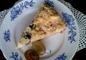 Ovocný koláč z pomazánkového másla