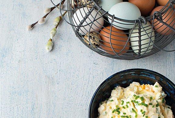 Vajíčková pomazánka s lučinou
