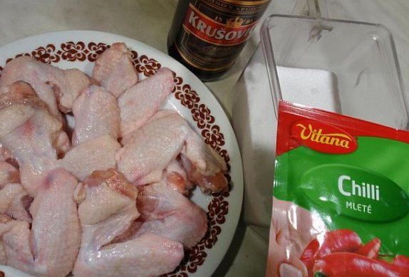 """Ohnivý kuře"""