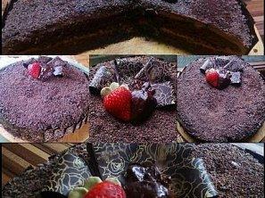 Čokoládový dort V.