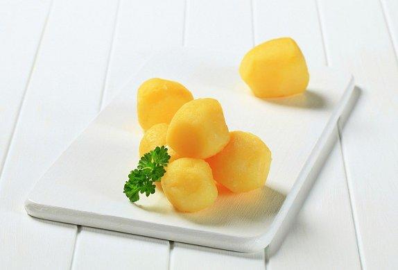 Brambory (těstoviny) s fazolkami
