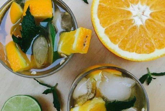Pomerančové mojito