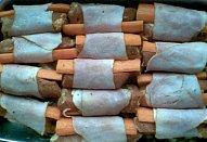 Masovo-mrkvové špalíčky na houbách