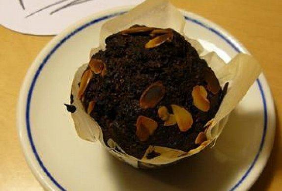 Muffiny s mandlemi a čokoládou photo-0