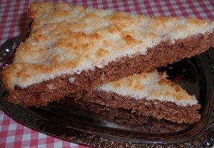 Kokosovo-pomerančový koláč