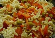 Bezmasé zapečené těstoviny s olivami