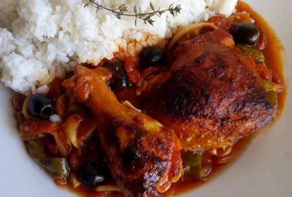 Baskické kuře