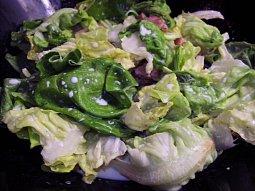 Hlávkový salát s anglickou slaninou