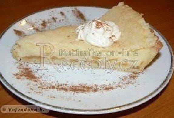 Jablečný koláč s mléčným krémem photo-0