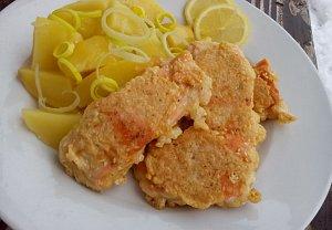 Ryba v sezamovém těstíčku