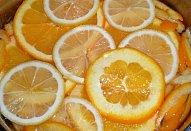 Kandovaná pomerančová (citronová) kůra