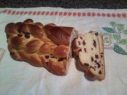 Výborná vánočka nebo mazanec, lze upéct i v pekárně